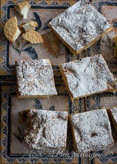 Brownie de chocolate blanco con galletas oreo gold