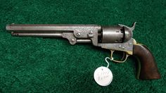 Fancy Engraved Colts | C1773 FACTORY ENGRAVED COLT 1851 NAVY REVOLVER