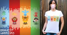 VOTE for this Bravest Warriors design! #threadless @aaron bowersock