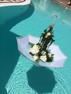 Ombrello fiori nell acqua #weddingshabby