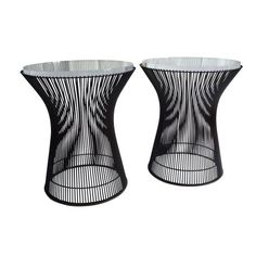 End Tables By Warren Platner for Knoll - A Pair - $5,250 Est. Retail - $3,300 on Chairish.com
