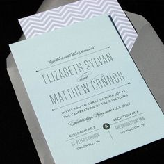 ALLIE - Wedding Invitation by The Occasional Hello | $5.50 for a sample kit at theohello.com