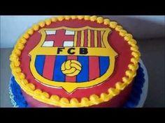 Barcelona Cake Buttercream Transfer How to Make - YouTube