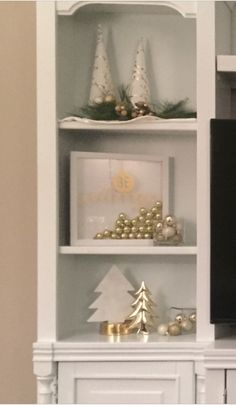 Entertainment Center holiday ideas