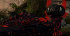 Night Fury OC Edits | School of Dragons | How to Train Your Dragon Games