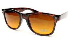 """Blue Blocker Lens Vintage Retro 80s Wayfarer Sunglasses Torotoise /Brown Lens W90 Style Vault. $7.95. FREE U.S Domestic shipping on any 3 pairs with code: CZNLDGR4. non-polarized. Lens width: - . Stylish and comfortable for everyday wear. Size: Width x Height 14.5cm x 4.8cm , 5 3/4"""" x 1 7/8"""". Blocks harmful UVB & UVA, meets ANSI Z80.3. plastic lens. plastic frame"""