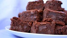Double Chocolate Brownies. Click for the recipe! #KCTS9Cooks #food #recipe #yum #chocolate #chocoholic #sweet #brownie