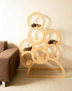 """Designer - Katzenmöbel """"Quincy"""", Höhe 1,35m, Kratzbaum, Spieltreppe von bachmayer, http://www.amazon.de/dp/B00DY42NMM/ref=cm_sw_r_pi_dp_hPORsb18FPE20"""