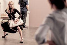 Découvrez les lignes graphiques et sensuelles du nouveau sac Ballet de NINA RICCI. Disponible sur Mytheresa.com.  #NINARICCIBALLET #NINARICCI #fashion #FW2014