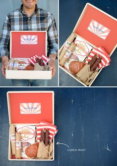 Fathers Day Sampler Boxes (Fill Them with Dad's Favorite Foods!) | Oh Happy Day!