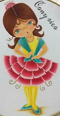 Pintura en tela Cony Rico