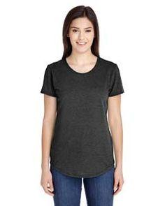 Anvil Ladies' Triblend Scoop Neck T-Shirt 6750L