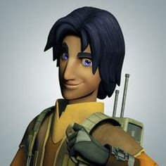 """Star Wars Rebels - Ezra Bridger. This character has potential. I just hope they don't get too """"loner street urchin"""" with him."""
