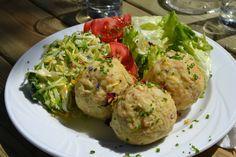 Die Knödel sind ein fester Bestandteil der traditionellen Südtiroler Küche