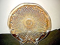 Marigold Carnival Glass Bowl