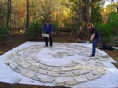 backyard labyrinth plans - Google Search