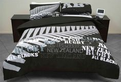All Blacks Graffiti Duvet Cover - Souvenirs & Accessories | Official All Blacks Rugby Shop