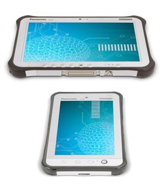 If you want a heavy duty tablet, the Panasonic Toughpad Android tablet is a good choice.