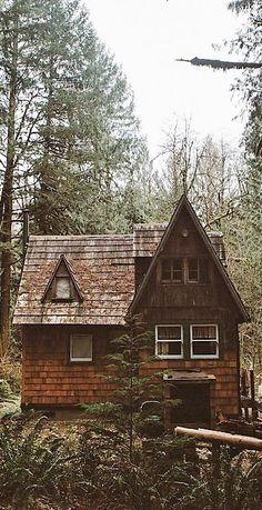 Perfect charming cabin in the woods.
