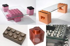 Lego real size furniture