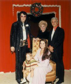 """loveselvispresley: """" Sonny West's wedding reception at Graceland on December 28…"""