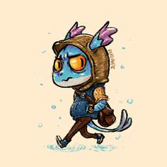 #Dota2 poor loner little slark just wants to pounce into the fun