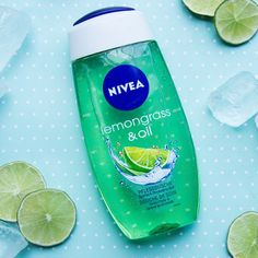 Our #NIVEA Lemongrass & Oil shower gel is a perfect freshness boost in the morning.