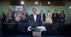 """Rajoy: """"Para ser presidente no basta con hipotecarse y humillarse"""""""