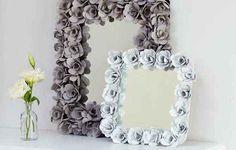 Custom Flower Mirror