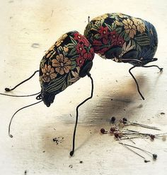 ♒ Enchanting Embroidery ♒ embroidered 3d bug