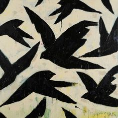 Soul Senders. Rodney Hatfield. Acrylic on canvas 36x36