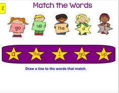 Pre-Primer Sight Words SMART Board Notebook. Great for RTI, ESL/ELL sight word intro or reinforcement. Every page is interactive, engaging, and fun, as a center, or small group tool. Pre Primer Sight Words, Smart Boards, Teacher Assistant, Interactive Whiteboard, Word Up, Learning Tools, Your Teacher, Ell, Small Groups