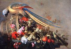 Baroque Old Masters Paintings   Cornelis de Heem (Dutch Baroque Era Painter, 1631-1695) Still Life ...