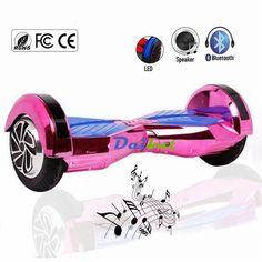 New 8 inch Chrome Pink Gold Hoverboard Two Wheel Scooter with Mobile APP Bluetooth Self Balance Electric Hover Board skateboard * AliExpress Affiliate's buyable pin. Item can be found  on www.aliexpress.com by clicking the image #Hooverboard