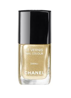 The Color of Summer 2012: Diwali, Fine nail polish by Chanel.