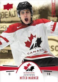 The full checklist for 2016 Upper Deck Team Canada Juniors hockey cards. Hockey Baby, Field Hockey, Hockey Teams, Hockey Players, Ice Hockey, Hockey Stuff, Mitch Marner, Hockey Decor, Maple Leafs Hockey