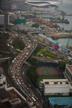 ... Causeway Bay in Hong Kong.
