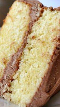 Perfected Yellow Cake ~ The fluffiest, most delicious yellow cake ever... The Best!