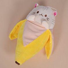 Amazon.com: Banana Meow Plush Doll Cute Stuffed Japanes Anime Animal Cartoon Toy Gift 1 Pc: Toys & Games