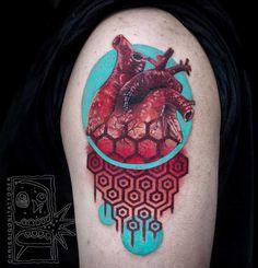 23 tatuajes que mezclan técnicas y estilos por Chris Rigoni | Marcianos
