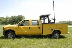 2006 Ford F350 Diesel 4x4 Utility Truck