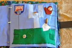Elisa Loves: How To Make A Quiet Book. How to make a fabric book for toddlers boys & girls. Quiet Book Tutorial DIY.