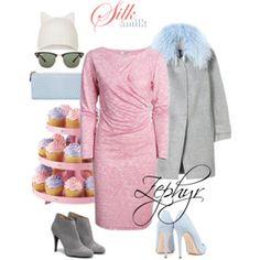 #outfitideas with #silkandmilk Light Red Zephyr #dress. Dress available on silkandmilk.com. #internationaldelivery available. #madeinlatvia #designclothes #breastfeedingdress #nursingdress #happymom #fashionset #rebeccataylor coat #topshop hat #puralopez ankle boots #deekeller shoes #alannahhill bag #raybansunglasses