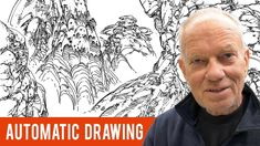 """Meditation for Artists: Learn Moebius' Meditative Technique Called """"Automatic Drawing"""" Drawing Lessons, Drawing Techniques, Drawing Tips, Art Lessons, Contour Drawing, Drawing Ideas, Drawing Tutorials For Beginners, Art Tutorials, Painting Tutorials"""