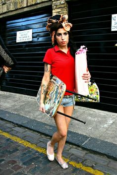 STYLE ON POINT! Amy was a special kind of style icon for me