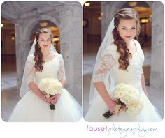 utah wedding photographer | lizzie's bridals at the capital building » fausetphotography.com/blog