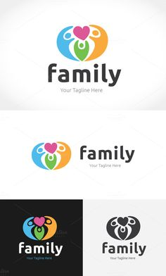 #Family #Logo 100% Scalable Vector Files Everything is editable Everything is resizable Easy to edit color / text Free fonts CMYK 300 PPI Ready to print Files included  .psd (Adobe Photoshop CC version) .ai (Adobe Illustrator CC version) .eps (Adobe Illustrator CC version) .eps (Adobe Illustrator 10 version) .txt (Help File with links to download all fonts) Everything works with Adobe Illustrator program