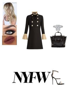 """Untitled #616"" by insafsat on Polyvore featuring Gucci, Giuseppe Zanotti and 3.1 Phillip Lim"