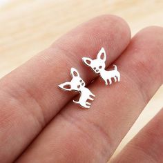 animal earrings on sale at reasonable prices, buy Jisensp New Arrival Chihuahua Earrings for Women Cute Dog Stud Earrings pendiente Love my Pet Jewelry Animal Earring bijoux from mobile site on Aliexpress Now! Animal Earrings, Animal Jewelry, Women's Earrings, Statement Earrings, Dog Jewelry, Garnet Necklace, Jewelry Armoire, Feather Earrings, Necklace Set