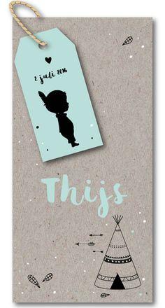 Labelkaartje - Thijs voor